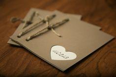 Wedding Programs Rustic and modern by edsonlane on Etsy, $1.80