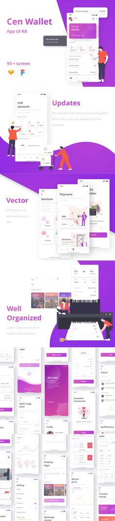 beautiful unique screens for your mobile app Mobile App Ui, Mobile App Design, App Design Inspiration, Ui Kit, Budget Planner, Mobile Application, Ui Design, Screens, Budgeting