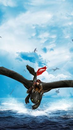 How To Train Your Dragon 2 Cartoon Movie Silk Poster Toothless 002 Dragons Le Film, Httyd Dragons, Dreamworks Dragons, Httyd 2, Toothless And Stitch, Toothless Dragon, Hiccup And Toothless, Toothless Wallpaper, Dragon Wallpaper Iphone