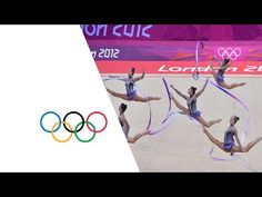 Rhythmic Gymnastics - Group All-Around Qualification   London 2012 Olympics