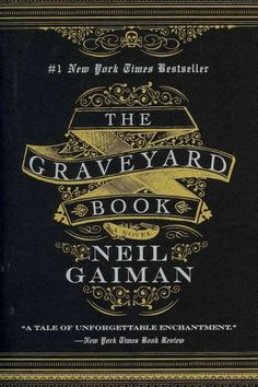 The Graveyard Book by Neil Gaiman (design by Gregg Kulick). One of my fave Gaiman books, beautiful cover design. Neil Gaiman, I Love Books, Good Books, Books To Read, My Books, George Orwell, Book Lists, Reading Lists, Happy Reading