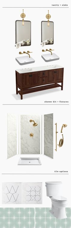 Bathroom remodel pla