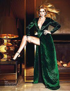 : Vogue Paris Август 2012 Gucci