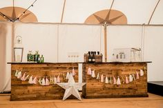 Bar | How To Plan A Tent Wedding | Papakata Tents | Sperry Tent | Papakata Teepee | Images by Dominic Wright Photography | http://www.rockmywedding.co.uk/planning-organising-tent-wedding/