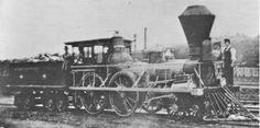 "(c.1850) 1850 The Rogers Engine ""Amenia"""