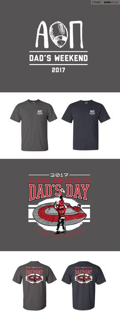 210462 - Illinois State Alpha Omicron Pi | Dad's Day Shirts '17 - View Proof - Kotis Design