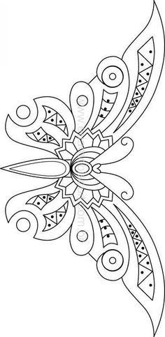 Zentangle Butterfly!!