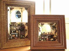 ♡ ♡ Jardín Terraza| miniatura bambini Doll House Interior de la habitación