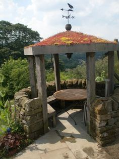Gazebo Roofs | Green Roof Gazebo In The Pennines Has Earned A £250 Holiday  Voucher