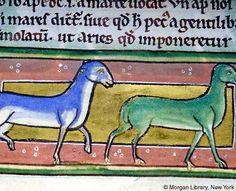 Bestiary, MS M.81 fol. 40r - Images from Medieval and Renaissance Manuscripts - The Morgan Library & Museum