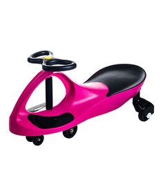 Another great find on #zulily! Hot Pink Wiggle Car Ride-On #zulilyfinds