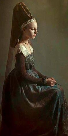 Forget-Me-Not Tudor Designs Page Liked · 17 hrs · Edited · Photo of a Medieval lady (Shabina Nagedga) Beautiful lady wink emoticon Credit and many thanks.