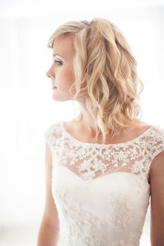 Bride | Wedding Dress | Fine Art Wedding Photography by Kerry Bartlett | Somerset Photographer | Sopley Mill | Bournemouth