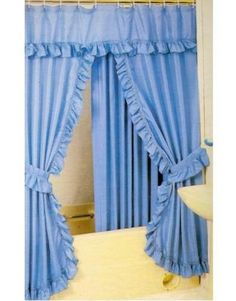 1000 images about adornos para ba os on pinterest tela for Modelos de cortinas de bano en tela