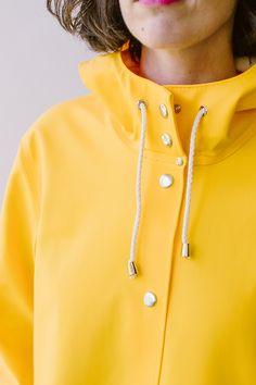 Stutterheim A Line Raincoat on Garmentory Dog Raincoat, Hooded Raincoat, Raincoats For Women, Jackets For Women, Green Raincoat, Rubber Raincoats, Rain Jacket Women, Womens Fashion, Jackets