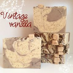 Handmade vintage vanilla soap has a classic rich and luxurious vanilla scent.    Each bar is packed full of vanilla powder, cocoa butter, cream,