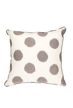 Large Ikat Dots Pillow