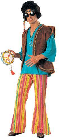 Adult 60's Woodstock Costume
