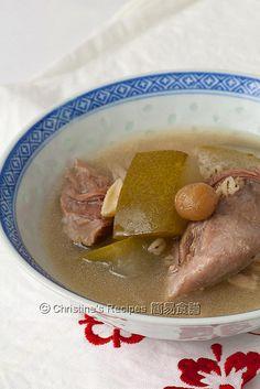冬瓜清補涼湯 Winter Melon and Ching Po Liang Soup01 by christine.ho, via Flickr