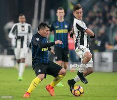 Gary Medel en el Juventus 1  - Inter de Milan 0