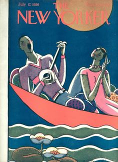 Stanley W. Reynolds : Cover art for The New Yorker 74 - 17 July 1926