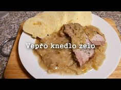 Eating Well, Pork, Beef, Cooking, Youtube, Meal Ideas, Kitchens, Drinks, Czech Recipes