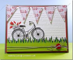 Card made by LOLS for the April Showers and or Flowers Challenge 2013