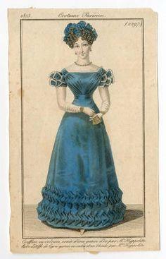 Women 1825, Plate 2297 Costume Institute Fashion Plates