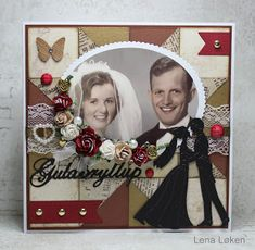 Lenas kort: Guldbryllups kort på bestilling Doodles, Frame, Blog, Cards, Home Decor, Pictures, Picture Frame, Decoration Home, Room Decor