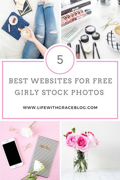 The best FREE websites for stock photos. Perfect for bloggers who want FREE stock photos to use for Pinterest traffic!