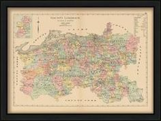ireland county maps – Etsy ireland county maps