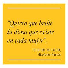 Thierry Mugler - El Palacio de Hierro: