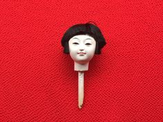 Japanese Doll Head Hina Matsuri Girl  Porcelain Doll Head (D10-25)