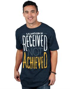 Salvation Is - Christian Mens Shirts for $19.99 | C28.com