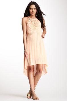 Hi-Lo Crochet Dress