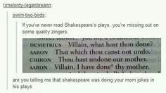 There were also many dick jokes in Shakespeare