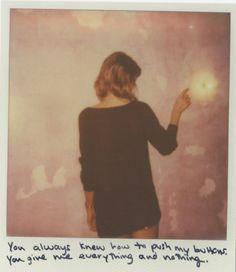 1989 Polaroids.