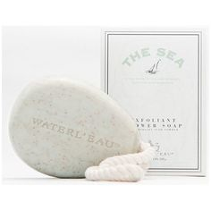 Canada Water L'eau - The Sea - Exfoliating Shower Soap with Cord 200 gm Perfume Jpop, Shower Soap, Body Cleanser, Best Soap, Bath And Body, Moisturizer, Fragrance, Place Card Holders, Sea