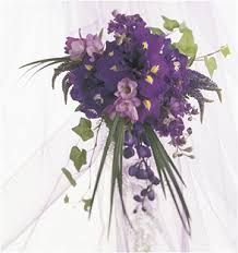 Image result for bridal bouquet purple
