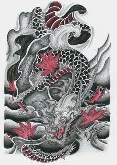 Maple Dragon by ryanschipper89 on DeviantArt