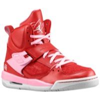 NEW Air Jordan Flights Brand New With Tags! Very fashionable pink, red and neutral gray. One strap over, lace up. PRICE IS FIRM. Girls Basketball Shoes, Basketball Sneakers, Basketball Players, Basketball Court, Nike Shoes, Sneakers Nike, Foot Locker, Air Jordans, Nike Women