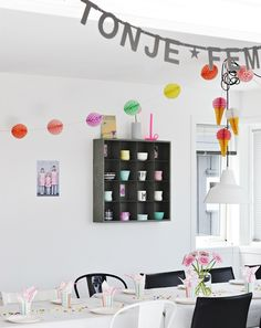 Birthday / Party Decoration from Sostrene Grene