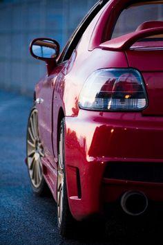 Red Honda DelSol
