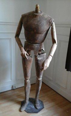 Grand Mannequin Articulé, Jean-Francois Hubeaux, Proantic