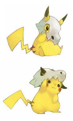 Peekaboo Pikachu