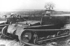 VI (with a machine gun removed). Armoured Personnel Carrier, Armored Fighting Vehicle, Armored Vehicles, World War Two, Armed Forces, Military Vehicles, Wwii, Poland, The Past