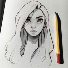 """87.8k Likes, 410 Comments - Laura Brouwers (@cyarine) on Instagram: """"I hope you're all doing well! I hope you like this evening sketch~ ✨"""""""
