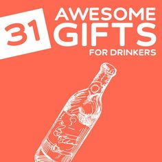 It's easy enough to buy for the alcohol lover in your life because they will pretty much be happy with anything alcohol-related. Of course you can get them a sp