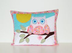 Nursery Pillow Cover Throw Pillow Cover  12 x by Customquiltsbyeva