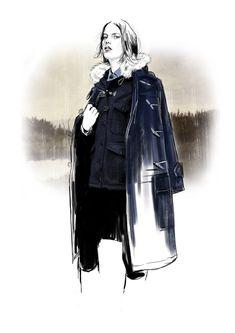 Tracy Turnbull Fashion Illustrations